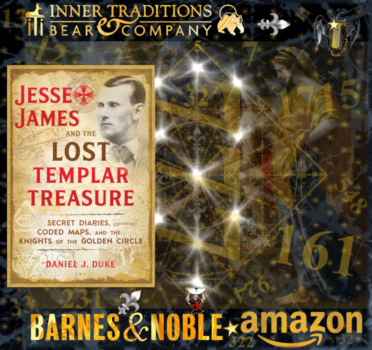 Jesse James and the Lost Templar Treasure | Daniel J  Duke